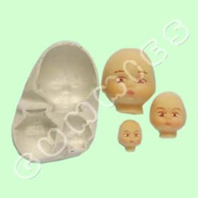Cabeças Bebê
