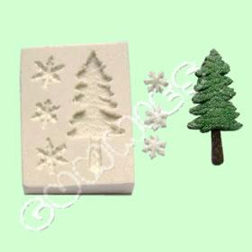 Pinheiro e Neve