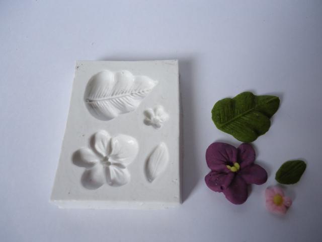 Violeta e miosotis