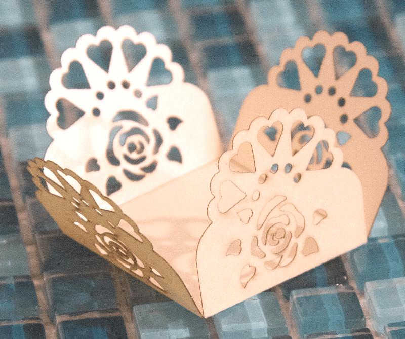 Forminha Rosa Corações