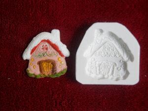 Doces criativos com os moldes de silicone para confeitaria