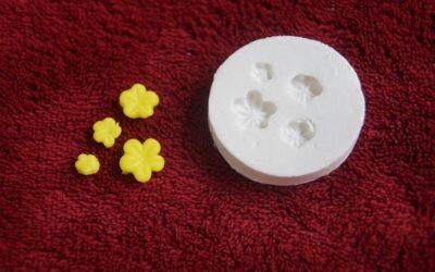 Moldes de silicone de Flores e frutas, mais realismos nas suas peças