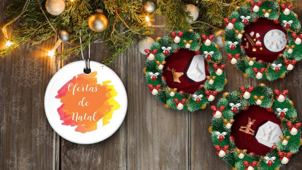 Um natal mais feliz com moldes de silicone natalino